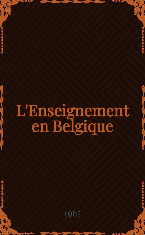 L'Enseignement en Belgique