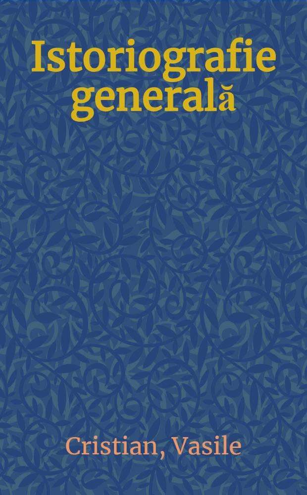 Istoriografie generală