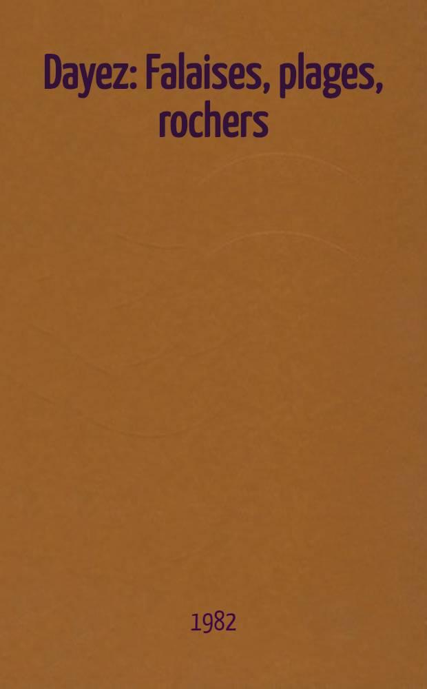 Dayez : Falaises, plages, rochers : Catalogue de l'Expos., Chateau-musée de Dieppe, 12 juin - 30 sept., 1982