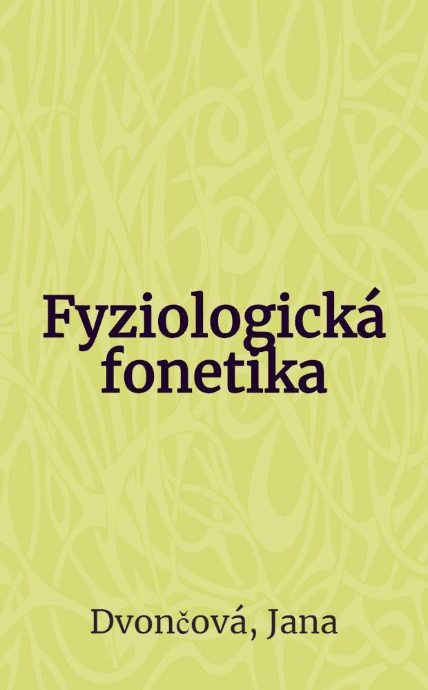 Fyziologická fonetika