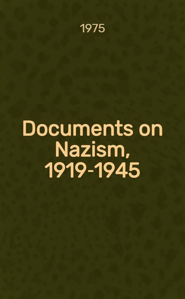 Documents on Nazism, 1919-1945