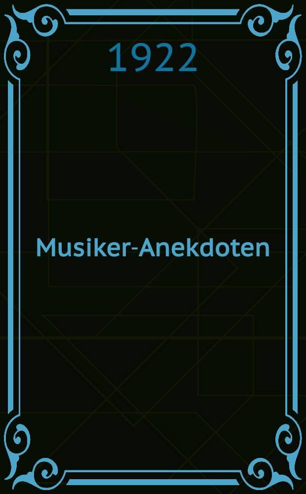 Musiker-Anekdoten