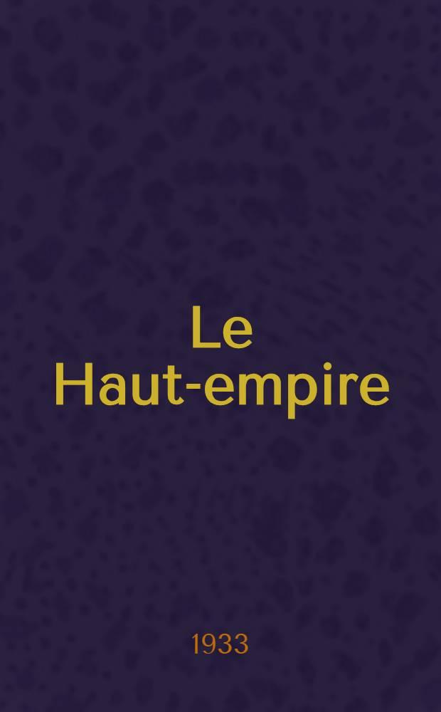 Le Haut-empire