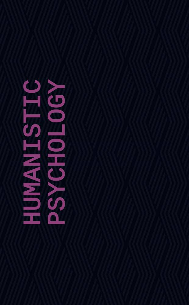 Humanistic psychology : Concepts a. criticisms