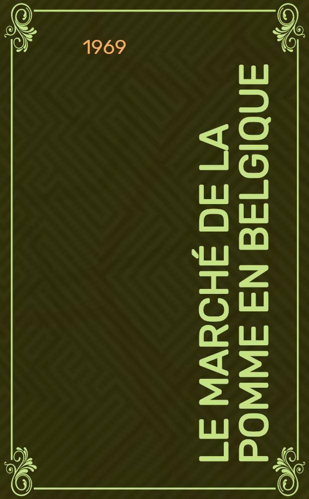 Le marché de la pomme en Belgique : Analyse globale de la fluctuation des prix à la production de 1950-1967