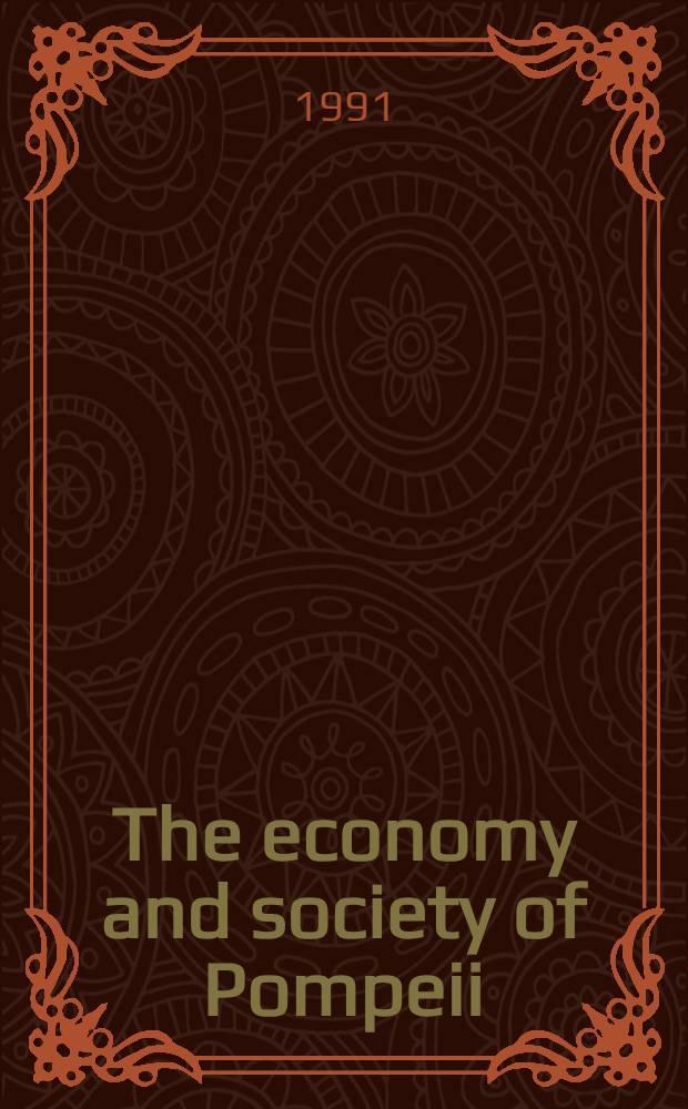 The economy and society of Pompeii