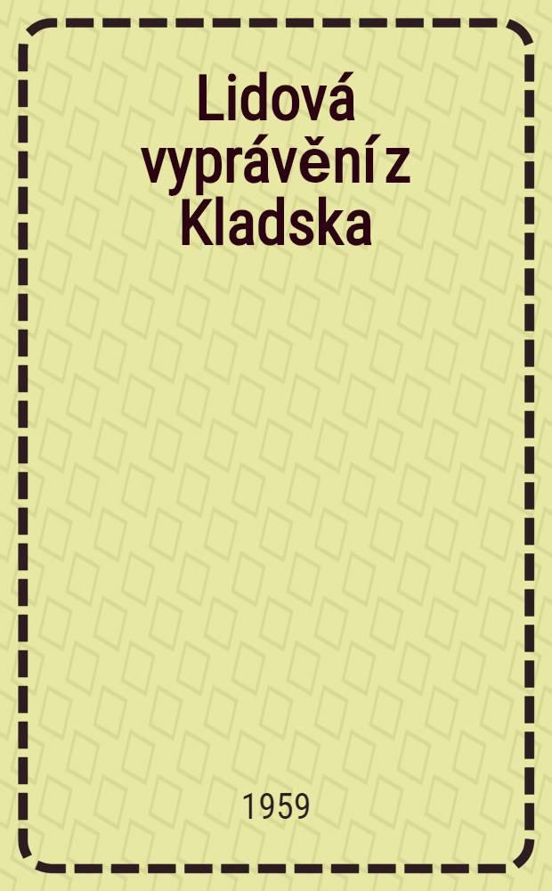Lidová vyprávění z Kladska
