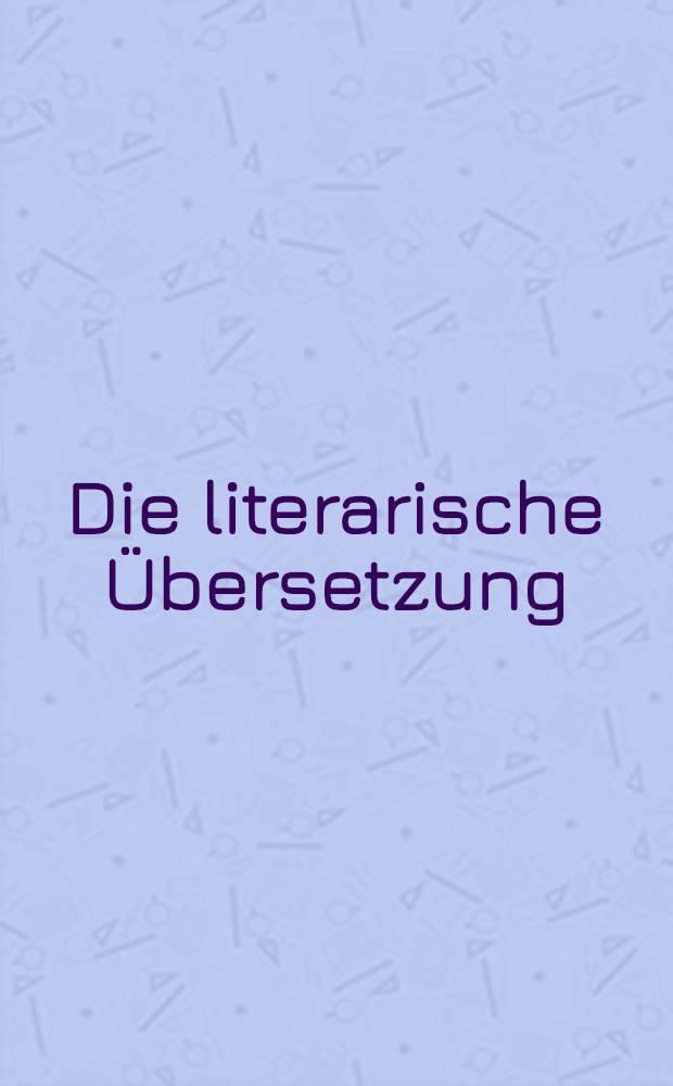 Die literarische Übersetzung : Der lange Schatten kurzer Geschichten : Amer. Kurzprosa in dt. Übers