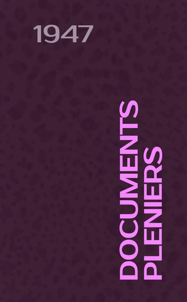 [Documents pleniers]