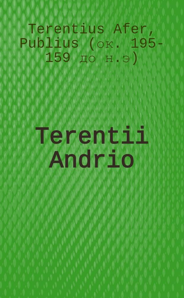 Terentii Andrio