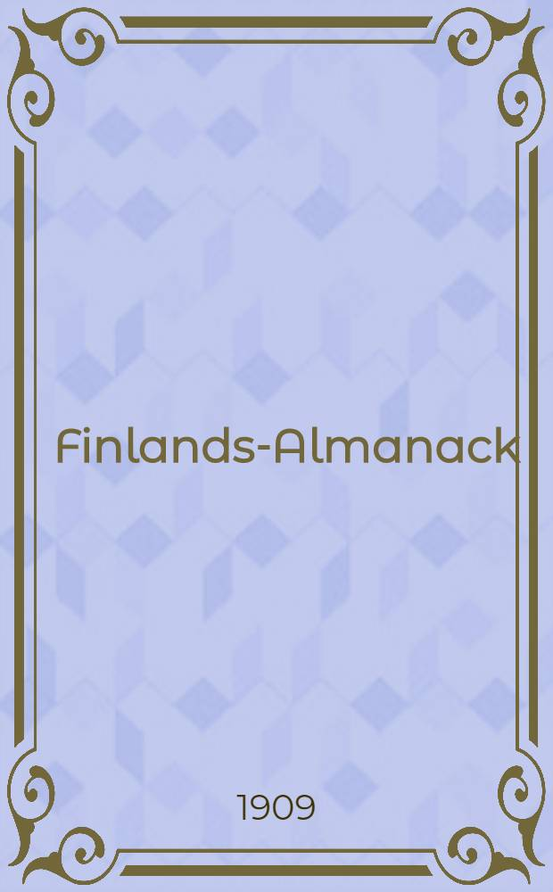 Finlands-Almanack