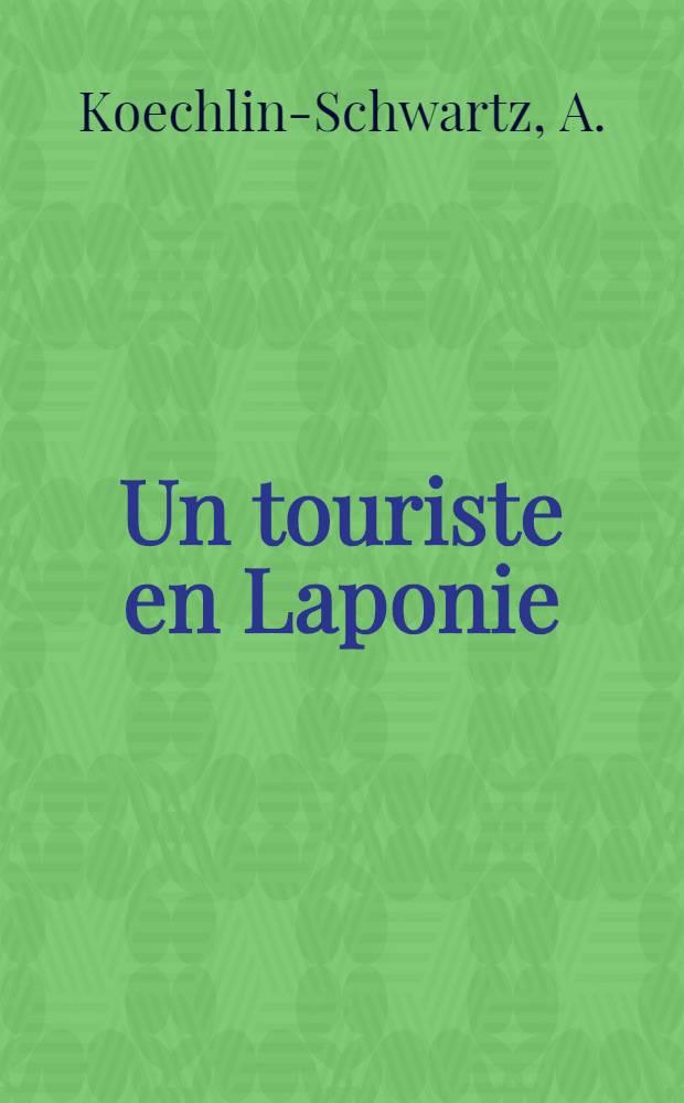 Un touriste en Laponie