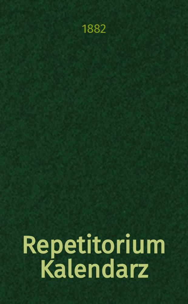 Repetitorium Kalendarz : 1883/1984