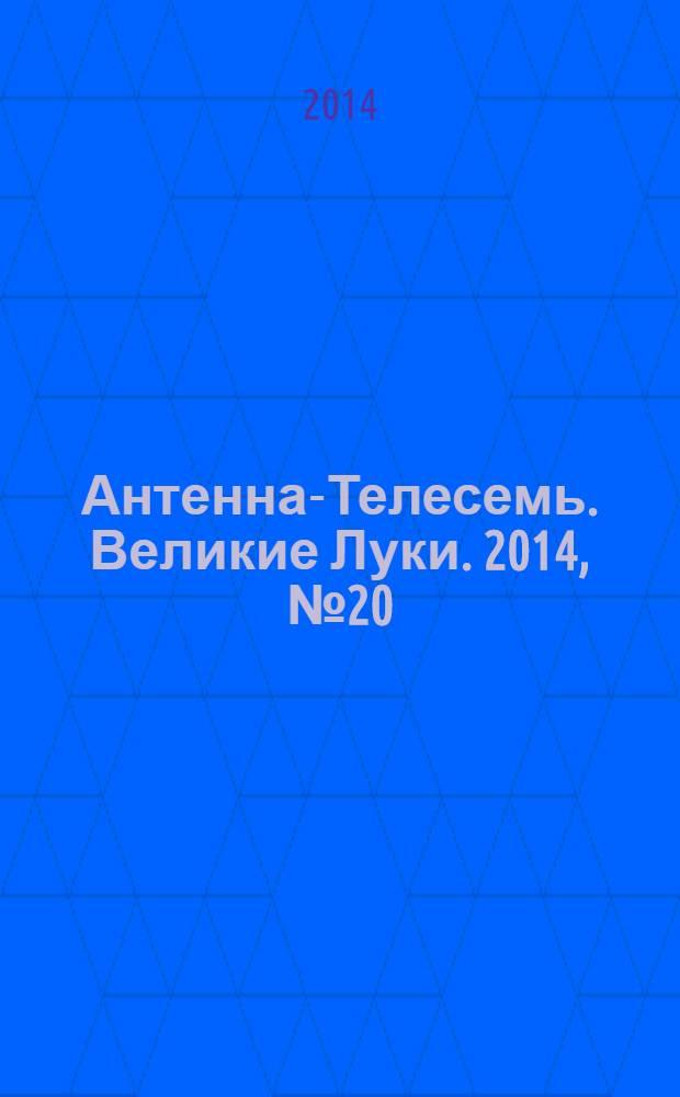 Антенна-Телесемь. Великие Луки. 2014, № 20 (36)
