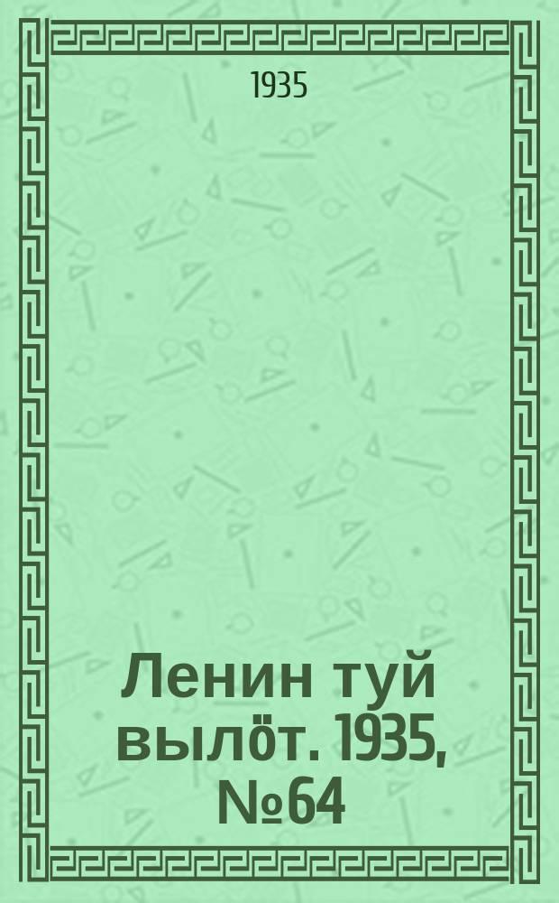 Ленин туй вылöт. 1935, № 64(1095) (5 апр.)