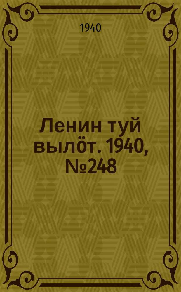 Ленин туй вылöт. 1940, № 248(2412) (20 нояб.)