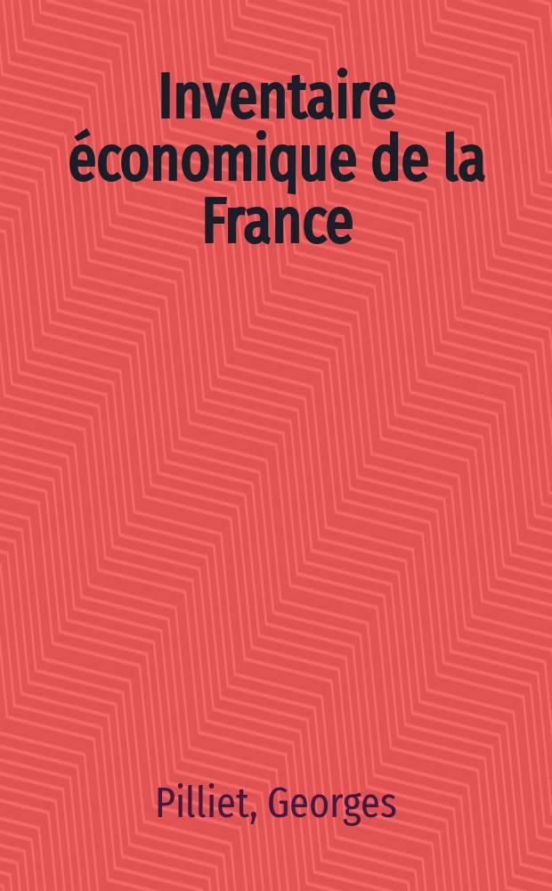 Inventaire économique de la France : 1944/1945-1946
