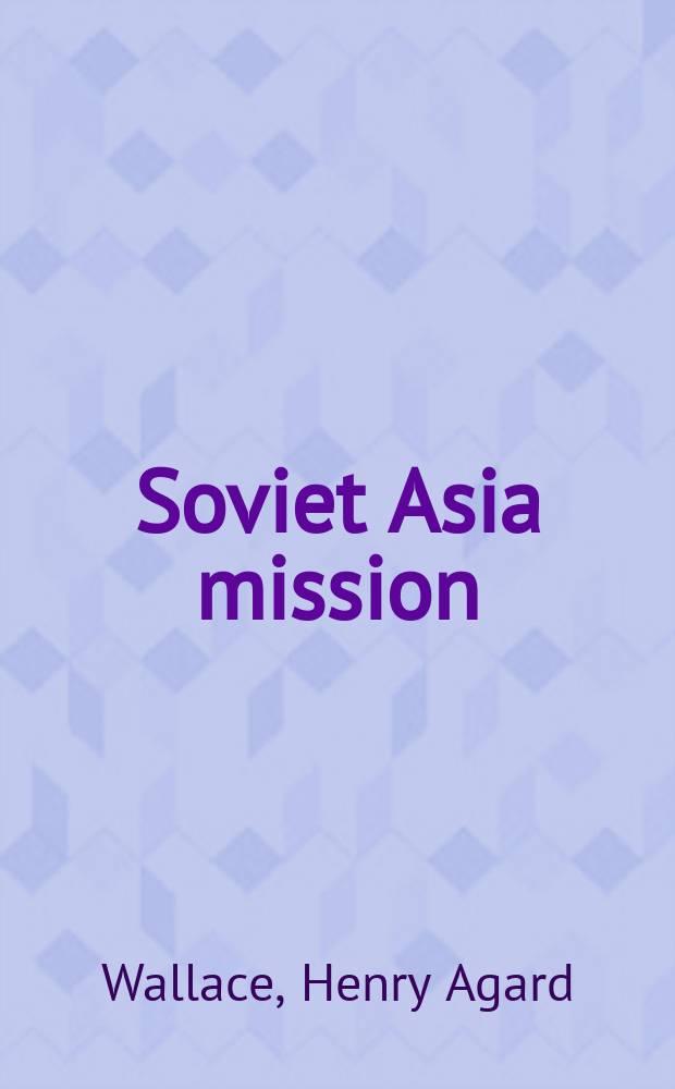 Soviet Asia mission