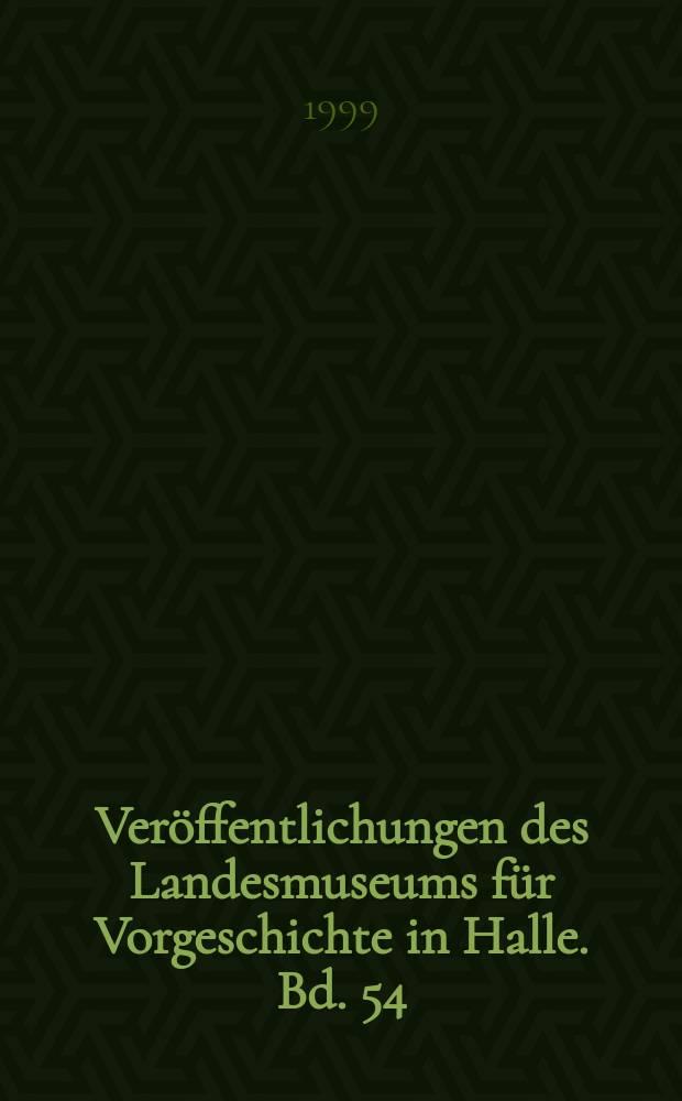 Veröffentlichungen des Landesmuseums für Vorgeschichte in Halle. Bd. 54 : Nebra - eine jungpaläolithische Freilandstation im Saale-Unstrut-Gebiet = Небра - верхний палеолит стоянки Фрайланд в регионе Заале-Унструт