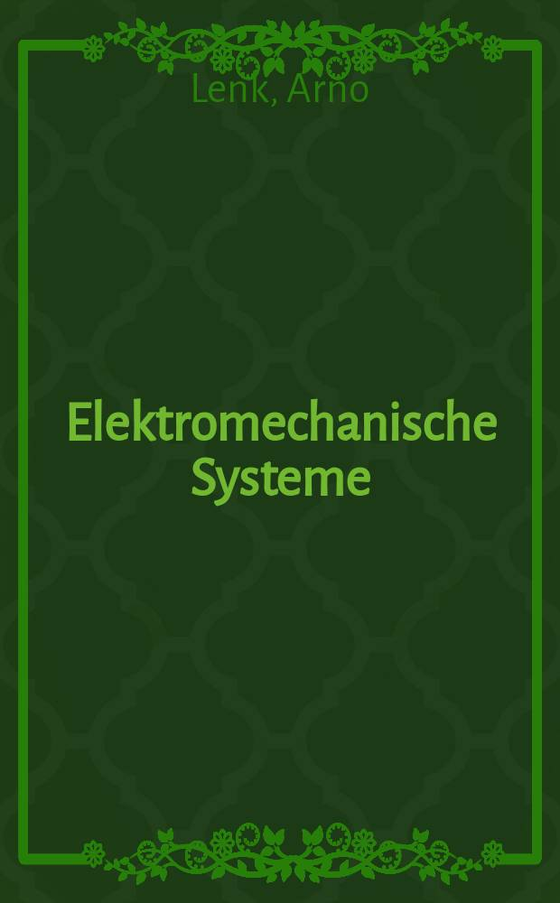 Elektromechanische Systeme