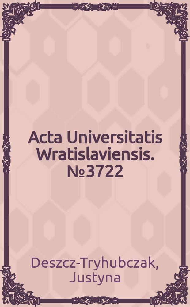 Acta Universitatis Wratislaviensis. № 3722 : Yes to solidarity, no to oppression = Да - солидарности, нет - притеснению. Радикальная фантастическая художественная литература и ее молодые чичитатели