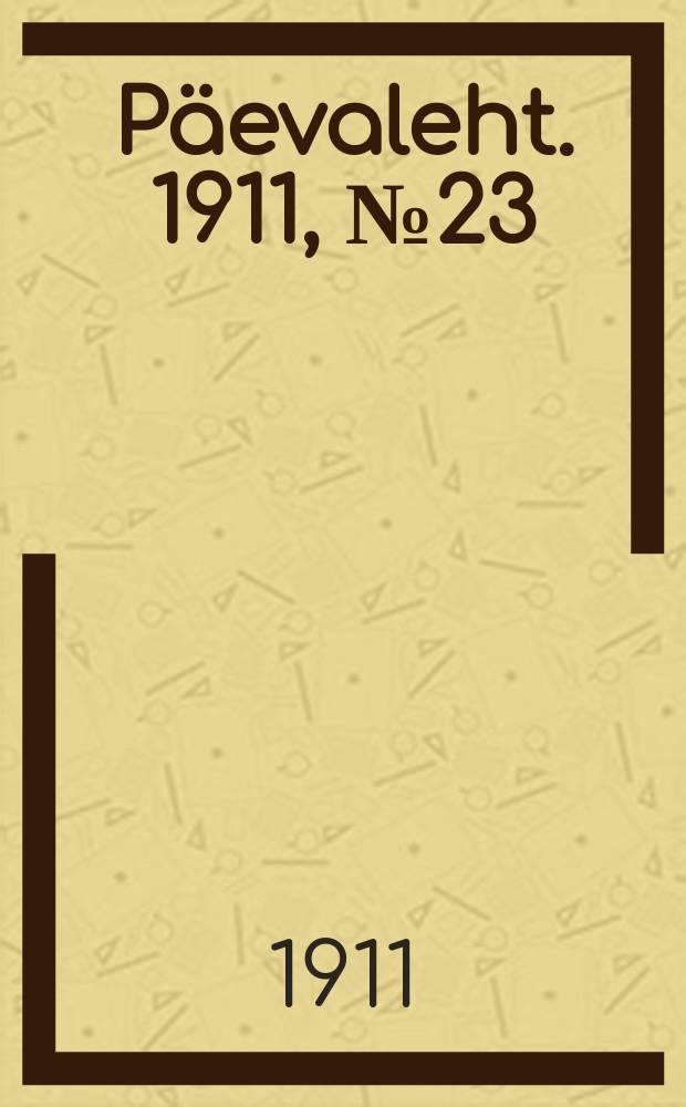 Päevaleht. 1911, № 23 (29 янв. (11 февр.))